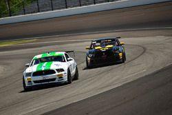 #10 TA4 Ford Mustang, JR Pesek, PF/Rennsport KC Racing, #78 TA4 Ford Mustang, Andrew Entwistle, Phoenix Performance
