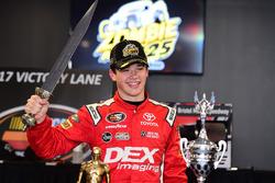 Race winner Harrison Burton