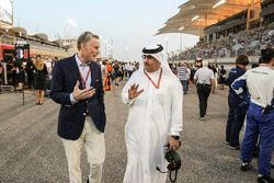 Sean Bratches, Managing Director of Commercial Operations, Formula One Group, Shaikh Mohammed bin Essa Al-Khalifa