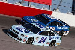 Chase Elliott, Hendrick Motorsports Chevrolet Dale Earnhardt Jr., Hendrick Motorsports Chevrolet