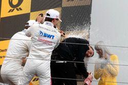 Podium: Lucas Auer, Mercedes-AMG Team HWA, Mercedes-AMG C63 DTM
