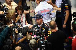 Daniel Ricciardo, Red Bull Racing parle aux médias