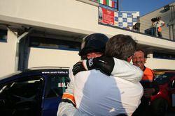 Il vincitore di Gara 1 Matteo Zucchi, Seat Motor Sport Italia, Seat Leon Cupra ST-TCS2.0