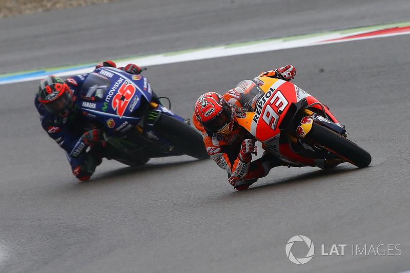 Marc Marquez, Repsol Honda Team, Maverick Viñales, Yamaha Factory Racing