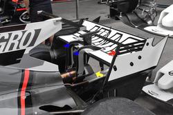 Haas F1 Team VF-17, rear wing