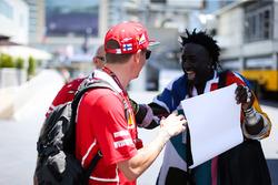 Kimi Raikkonen, Ferrari und Mr. Moko