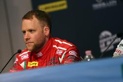 Conferencia de prensa: #55 Spirit of Race, Ferrari F488 GTE: Matt Griffin