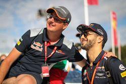 Daniel Ricciardo, Red Bull Racing y fans