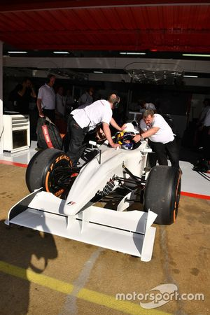 F1 Experiences 2-Seater passenger and Patrick Friesacher, F1 Experiences 2-Seater driver