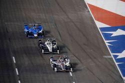 Will Power, Team Penske Chevrolet Tony Kanaan, Chip Ganassi Racing Honda Simon Pagenaud, Team Penske