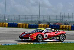 #115 Ferrari of Vancouver Ferrari 488 Challenge: Murray Rothlander