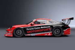 The car to be driven by Porsche test and development driver Lars Kern