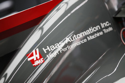 Haas engine cover detail