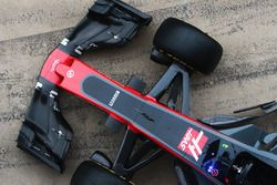 Haas F1 Team VF-17 front detail