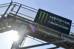 Monster Energy flag stand