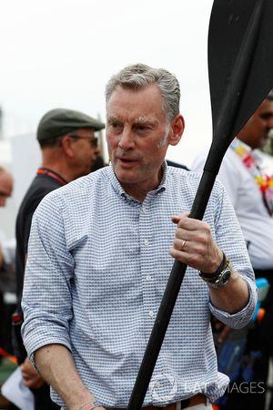Floßrennen in Montreal: Sean Bratches, Formel-1-Marketingchef