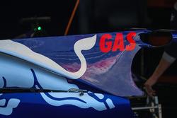 La carrosserie de la Scuderia Toro Rosso STR12