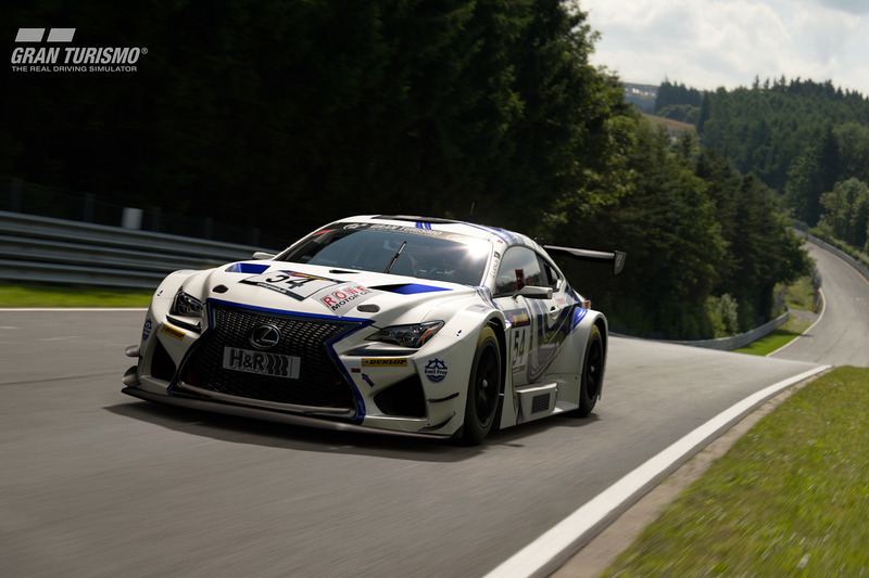 Lexus RC F GT3 prototype (Emil Frey Racing)