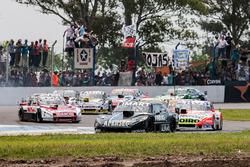 Esteban Gini, Alifraco Sport Chevrolet, Lionel Ugalde, Ugalde Competicion Ford, Nicolas Bonelli, Bonelli Competicion Ford