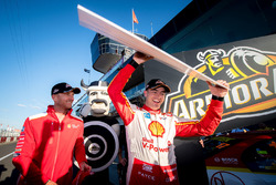 Pole de Scott McLaughlin, Team Penske Ford, Alexandre Prémat, Team Penske Ford