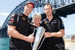 David Reynolds, Louke Youlden, Erebus Motorsport Holden, Betty Klimenko, Erebus Motorsport Holden team owner