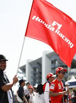 A Honda flag