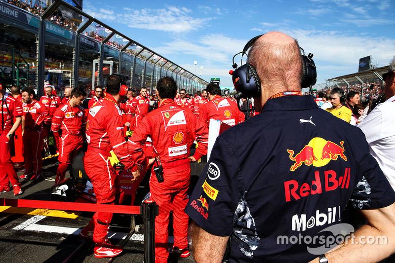 Гран Прі Австралії. Едріан Ньюї, головний інженер Red Bull Racing