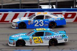 Дэниел Хемрич, Richard Childress Racing Chevrolet и Спенсер Галлахер, GMS Racing Chevrolet