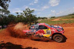 #302 Toyota Gazoo Racing Toyota: Жиньель де Вильерс и Дирк фон Цицевиц