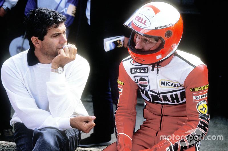 Giacomo Agostini ve Eddie Lawson, Yamaha