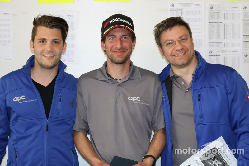 Thierry Kilchenmann, Fabian Eggenberger, Fabio Gubitosi, podium OPC Challenge