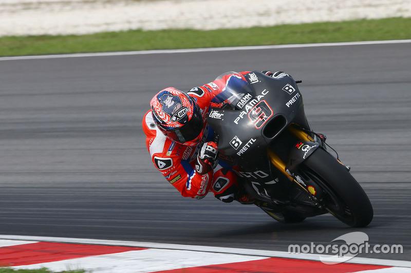 14º Danilo Petrucci (Pramac Racing) 2:00.310 a 0.942