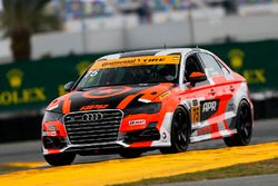 #75 Compass360 Racing, Audi S3: Roy Block, Pierre Kleinubing