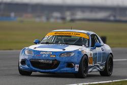 #27 Freedom Autosport Mazda MX-5: Robby Foley, Britt Casey Jr.