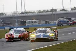 #68 Ford Performance Chip Ganassi Racing Ford GT: Billy Johnson, Stefan Mücke, Olivier Pla; #63 Scud
