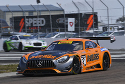 #2 CRP Racing Mercedes AMG GT3: Ryan Dalziel
