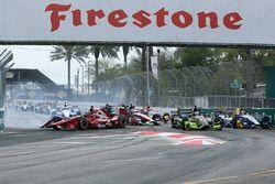 Graham Rahal, Rahal Letterman Lanigan Racing Honda, in de problemen