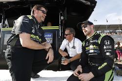 Eric Cowdin, Scott Harner, Charlie Kimball, Chip Ganassi Racing Honda