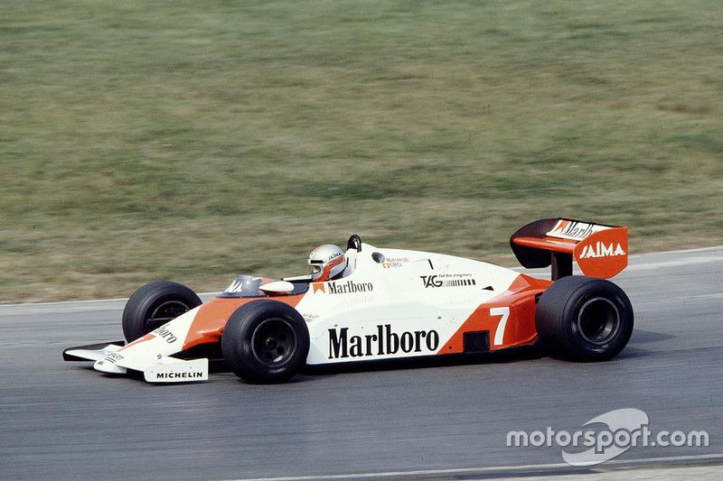 1983: McLaren-Porsche MP4/1E