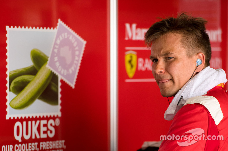 #88 Maranello Motorsport, Ferrari 488 GT3: Toni Vilander