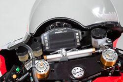 Détails de la moto de Marco Melandri, Ducati Team