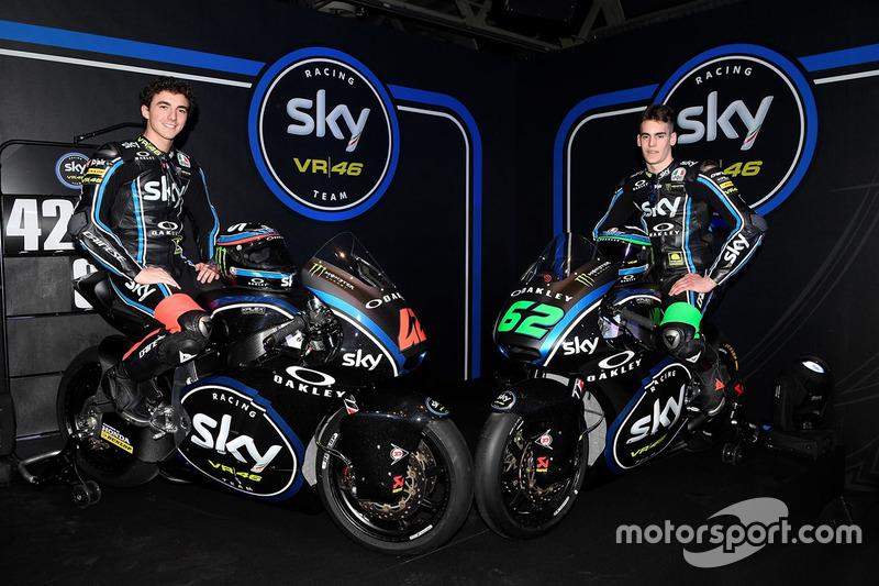 Francesco Bagnaia, Stefano Manzi, Sky Racing Team VR46