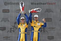 GTD, podium: ganadores, Jesse Krohn, Jens Klingmann, Turner Motorsport