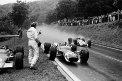Graham Hill und Jo Siffert, Lotus