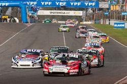 Jose Manuel Urcera, Mariano Altuna, Maximiliano Vivot, Las Toscas Racing Chevrolet, Gabriel Ponce de
