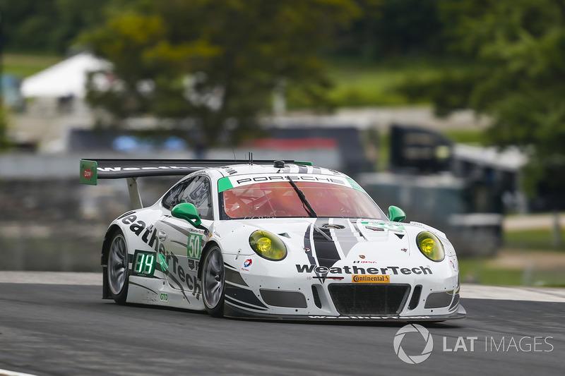 #50 Riley Motorsports Porsche 911 GT3R: Ганнар Жіннетт, Купер МакНіл