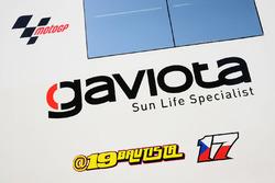 Alvaro Bautista, Aspar MotoGP Team logo