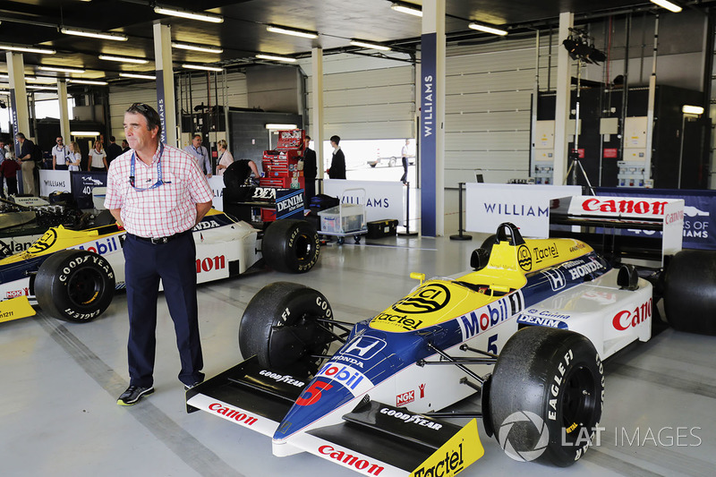 Найджел Мэнселл с Williams FW11 Honda