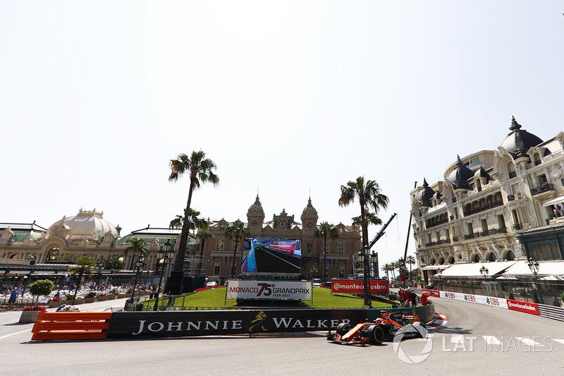 12. Stoffel Vandoorne, McLaren MCL32 (Startplatzstrafe)