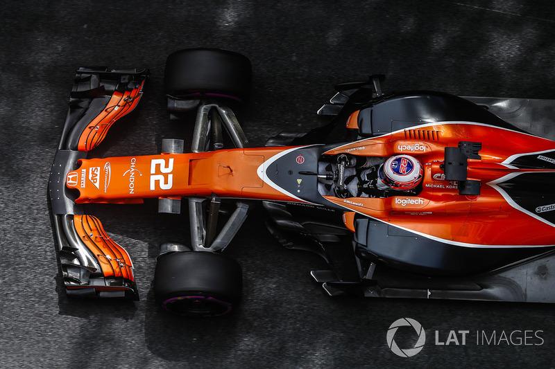 Ausfall: Jenson Button, McLaren MCL32